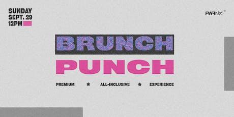 Brunch Punch tickets