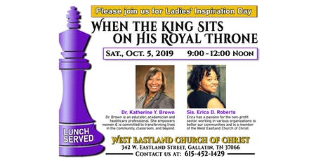 Ladies' Inspiration Day tickets