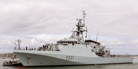HMS MEDWAY Ship Open To Visitors tickets
