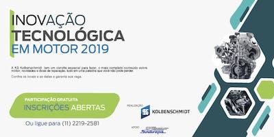 Inovação Tecnológica em Motor 2019 - São Paulo