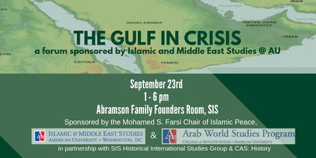 The Gulf in Crisis tickets