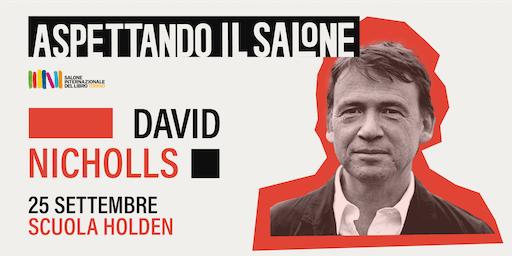 David Nicholls a Torino | Aspettando il Salone