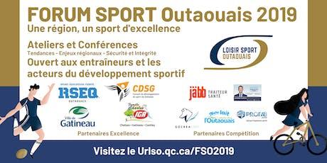 Forum Sport Outaouais 2019 billets