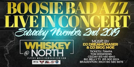 Boosie Performing Live @ Whiskey North - Tampa, FL tickets