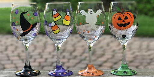 """Paint And Sip with """"Wine of a Kind""""- October"""