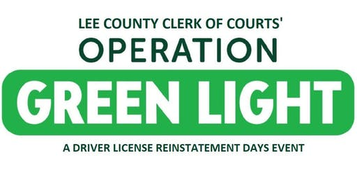 Drivers License Reinstatement Days - Pre-Registration