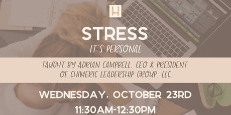 Stress- It's Personal tickets