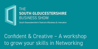 Confident & Creative – A workshop to grow your skills in Networking