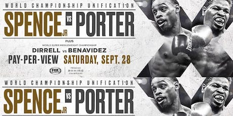 Boxing Spence vs Porter tickets