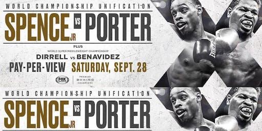 Boxing Spence vs Porter