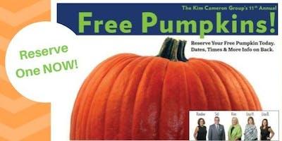 11th Annual FREE Pumpkin Event!
