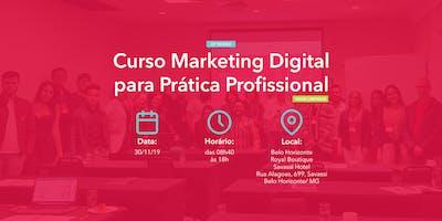 Curso Marketing Digital para Prática Profissional - 30/11/2019 - BH