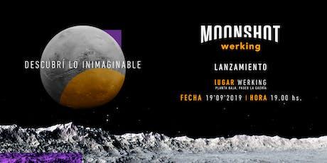Lanzamiento Moonshot Werking entradas