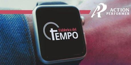CREA il TUO tempo - Firenze 22 Ottobre biglietti