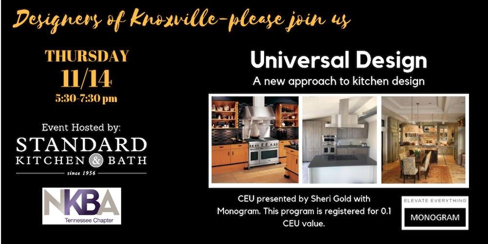 KNOXVILLE-UNIVERSAL KITCHEN DESIGN Tickets, Thu, Nov 14 ...