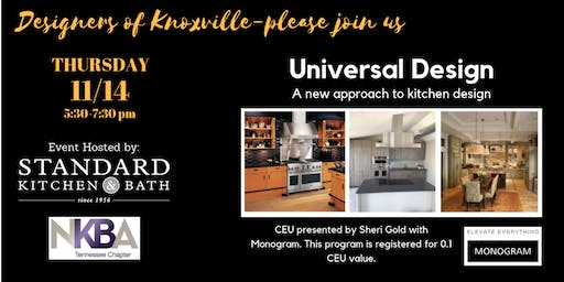 KNOXVILLE-UNIVERSAL KITCHEN DESIGN