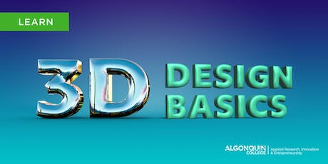 Algonquin College MakerSpace: 3D Design Basics tickets