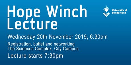 Hope Winch Lecture 2019 tickets