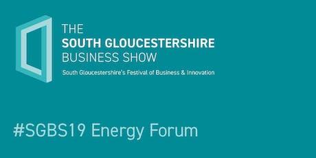 #SGBS19 Energy Forum tickets
