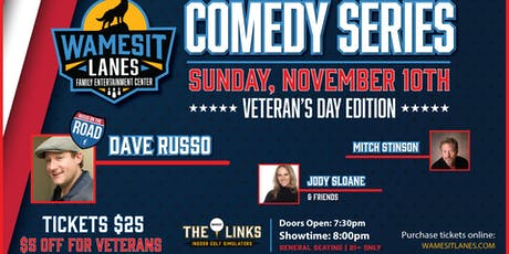 Wamesit Comedy Series - Veteran's Day Edition tickets