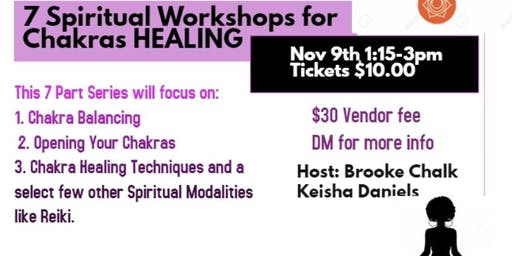 7 Spiritual Chakra Healing Workshops