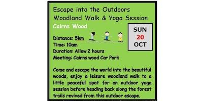 Autumn Winter Adventure Walks Series 2019 - Walk 2 - Escape into the Outdoors  - Woodland Walk & Yoga Session