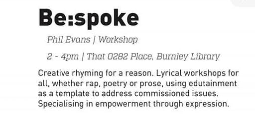 be:spoke Creative Rhyming Workshop