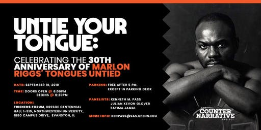 Celebrating the 30th Anniversary of Marlon Riggs' Tongues Untied