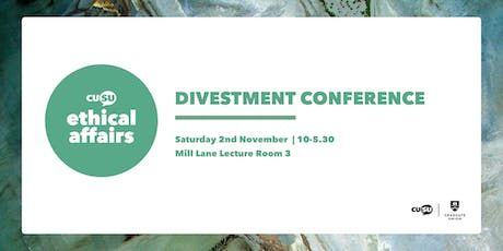 Cambridge University Divestment Conference tickets