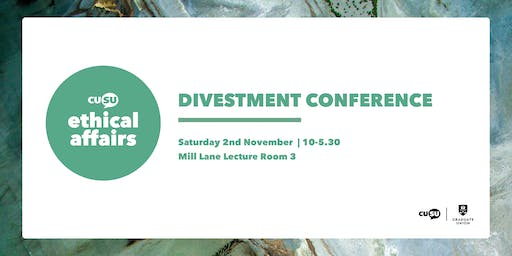 Cambridge University Divestment Conference