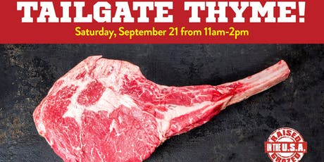 Tailgating Thyme tickets