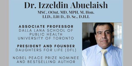 Dr. Izzeldin Abuelaish: Advocating for Women's Health in Areas of Conflict tickets
