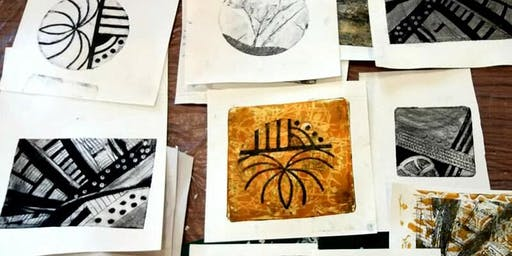 Introduction to Collagraphy and Drypoint printmaking