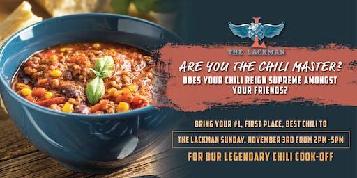 The Lackman Chili Cook-Off