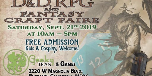 D&D, RPG and Fantasy Craft Faire