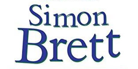 An evening with Simon Brett- Adult Reading Event. tickets