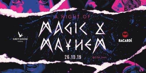 Magic & Mayhem Rooftop Halloween Party
