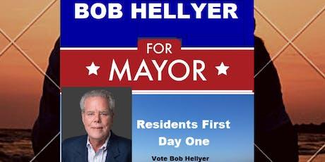 MEET BOB HELLYER - Surfside Beach Mayor Candidate tickets