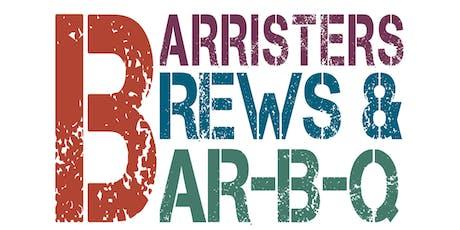 Barristers, Brews & BAR-B-Q 2019 tickets
