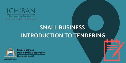 Small Business Introduction to Tendering South Perth 10Oct19