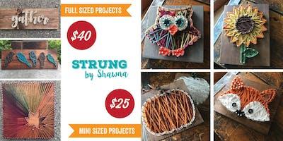 String Art: Fall Projects, Sapphire Creek Winery