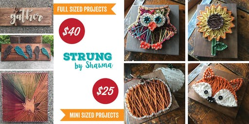 String Art: Fall Projects, Sapphire Creek Winery
