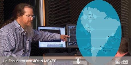 Un Encuentro con JOHN MEYER | Bogotá 2019 entradas