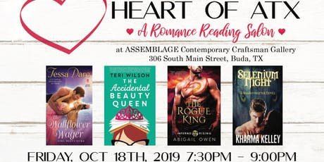 Heart of ATX Romance Reading Salon tickets