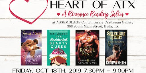 Heart of ATX Romance Reading Salon