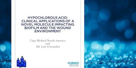 Hypochlorous Acid: Clinical Applications tickets