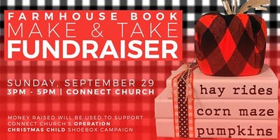 Farmhouse Books Make & Take Fundraiser