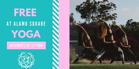Free Yoga at Alamo Square Park tickets