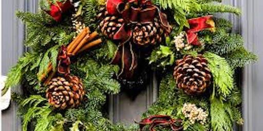 Festive Wreath Class