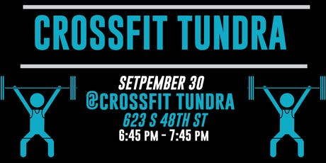 GGFYP September Social at Crossfit Tundra tickets